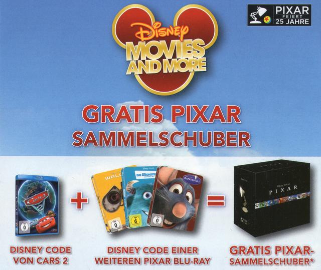 Big  Pixar Sammelschuber News 01
