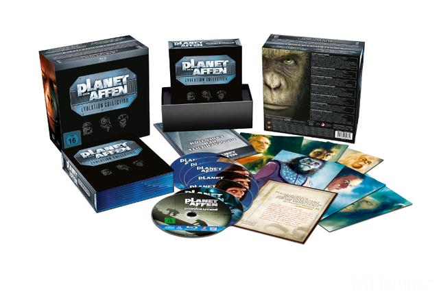 Big  Planet Der Affen Evolution Collection Packshot News 01