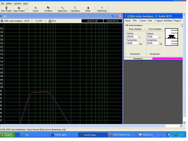 P.Audio SD18 Bandpass
