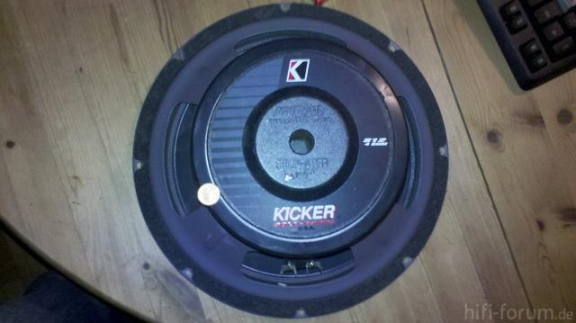 Kicker Solo Baric S12 Hinten