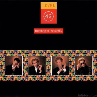 Level 42 Running In The Family Cover Front