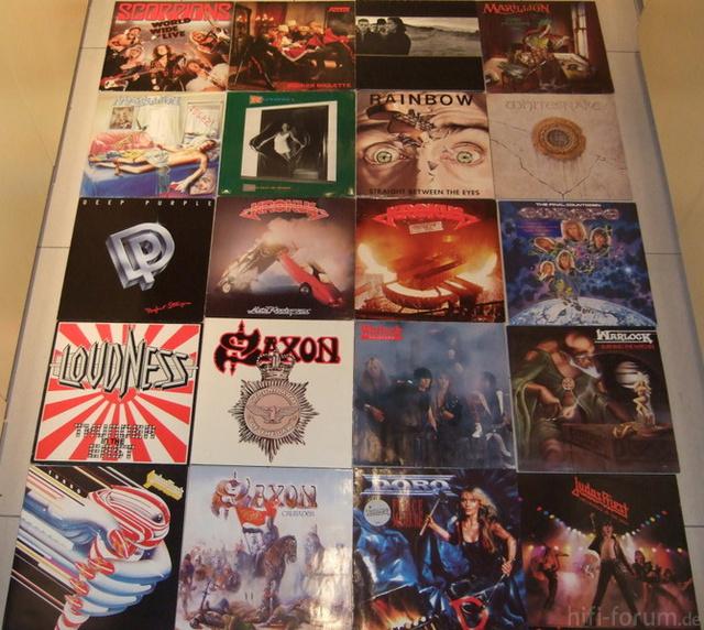 20 Platten Hard Und Heavy