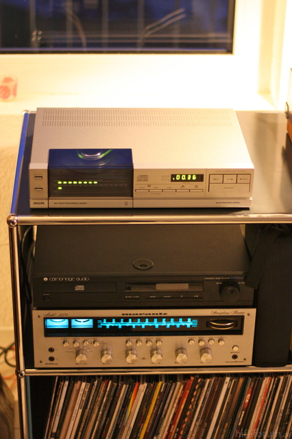 Philips CD 303/Marantz 2270