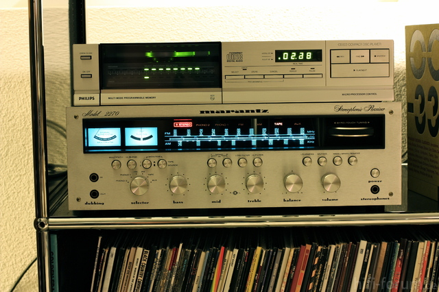 Philips CD 303/Marantz 2270