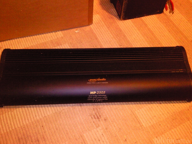 Mac Audio MP2505