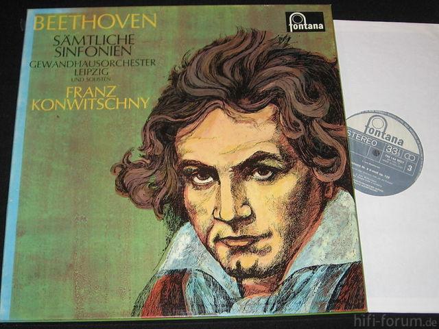 Beethoven Konwitschny Fonatan Leipzig