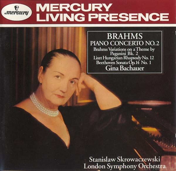 Gina Bachauer Brahms 2 Mercury