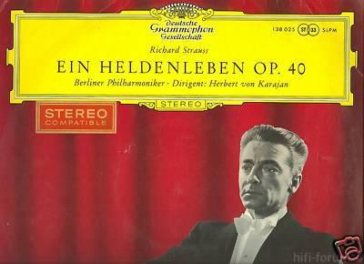 Strauss Heldenleben DGG HvK Red Stereo