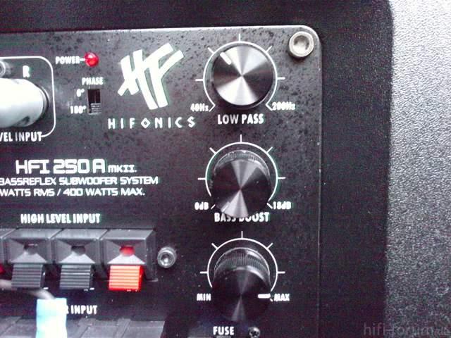 Hifonics HFI 250A