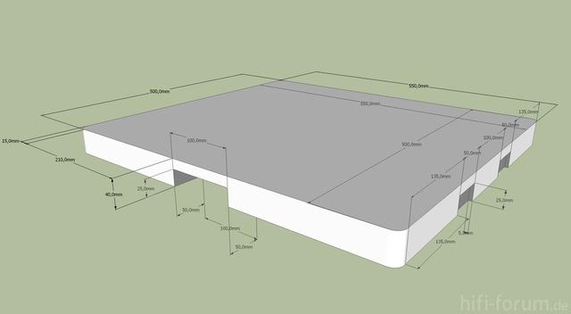 Deckelplatte X 1