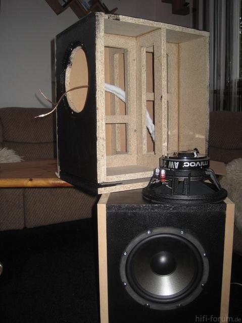 AW 2000 In 35l, 31 Hz Tuning, Kurz Vor Fertigstellung