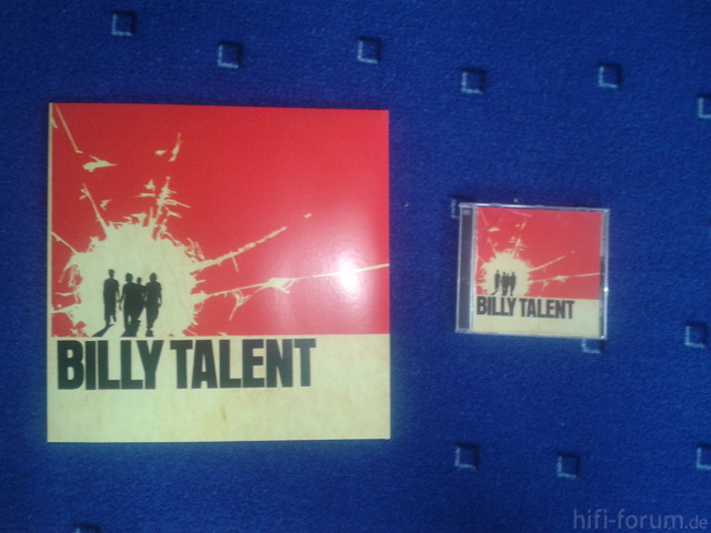 Billy Talent LP + CD