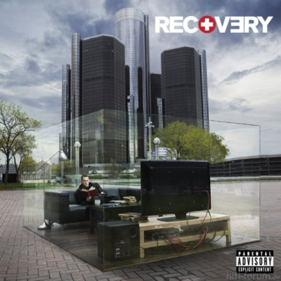 Eminem Recovery Cover