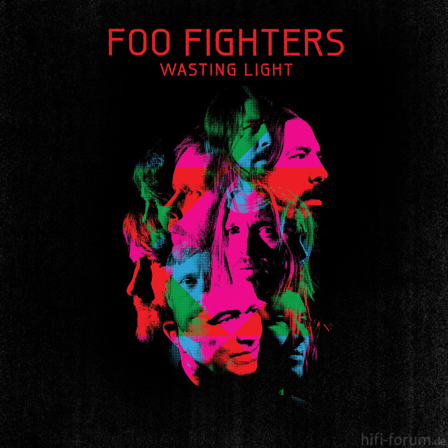 Foo Fighters Wasting Light Album Cover