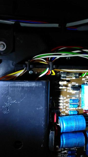 Philips Stereo Music Center 901 - Adern Audioausgang, Anschluss Platine