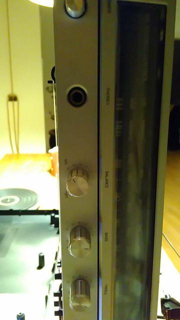 Philips Stereo Music Center 901 - Anschluss Kopfhörer/Phone