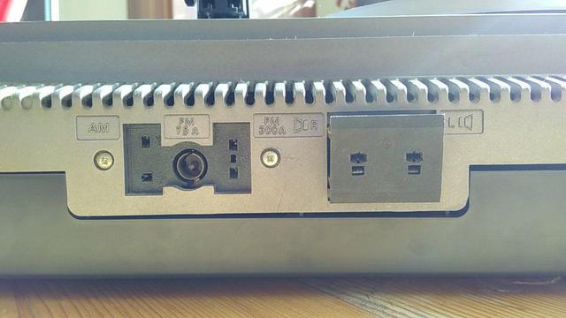 Philips Stereo Music Center 901 - Anschlüsse Rückseite