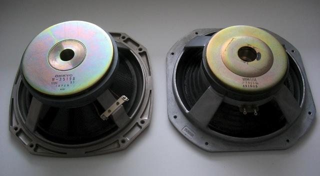 Yamaha NS-2000, Onkyo SC-1500, Bass