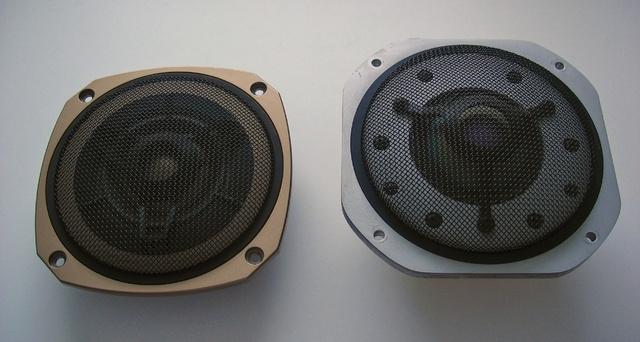 Yamaha NS-2000, Onkyo SC-1500, Mid