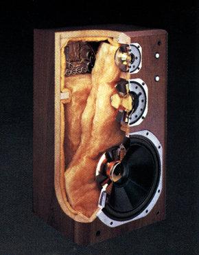 Yamaha NS-2000 Querschnitt