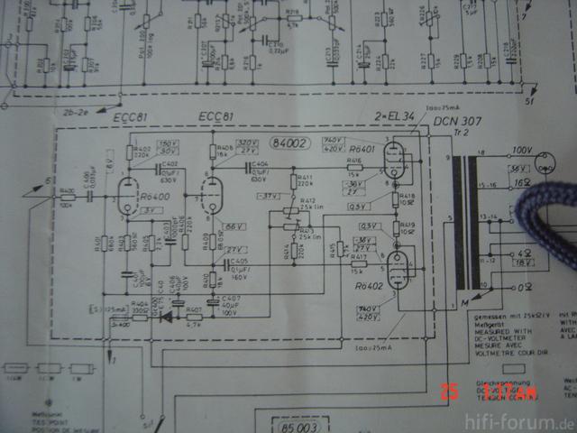 Dynacord MV80 Endstufe