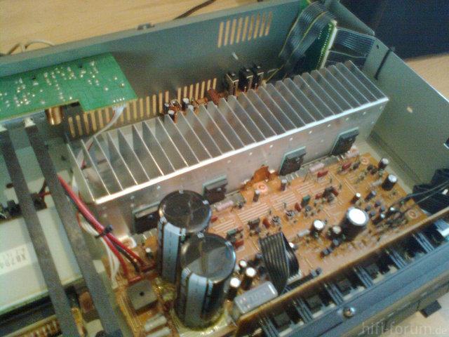 Yamaha AX-500 Instandsetzung Nach Defekt