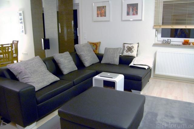 Couch und Rearspeaker