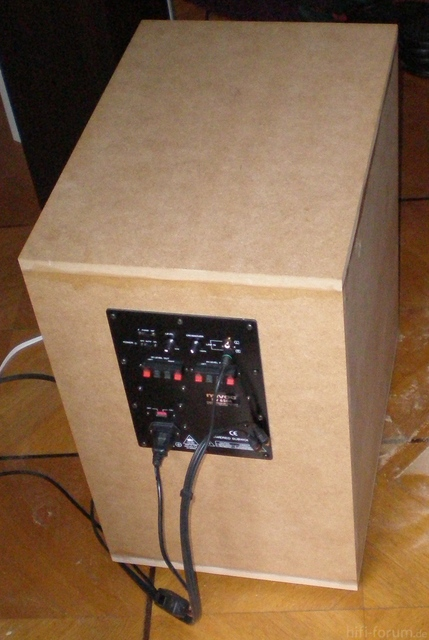 DIY Subwoofer AWM124