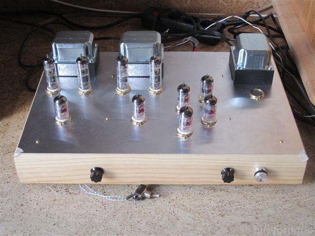 PCL 805 Trioden SE Mit SRPP Phonovorstufe