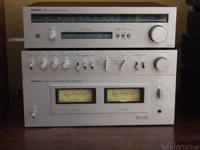 Hitachi Hma 6500, Onkyo T 4040