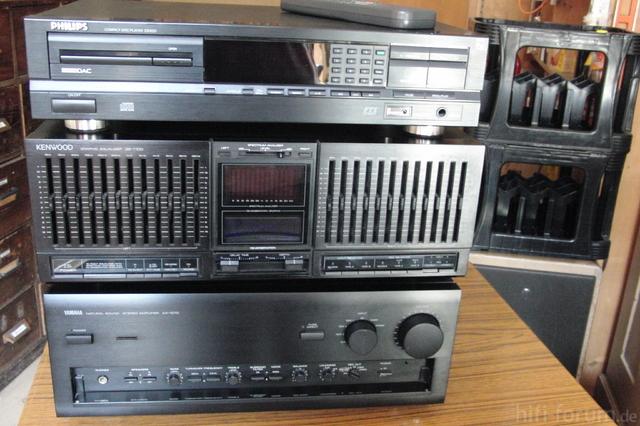 Yamaha Ax 1070 / Kenwood GE 1100
