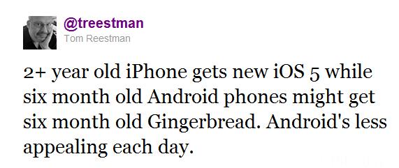Twitter    Tom Reestman  2  Year Old IPhone Gets Ne