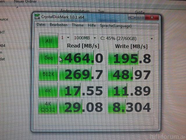 SSD Im AHCI Modus