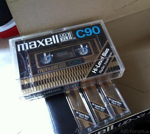 Maxell UD XL2 C90   Audiotape