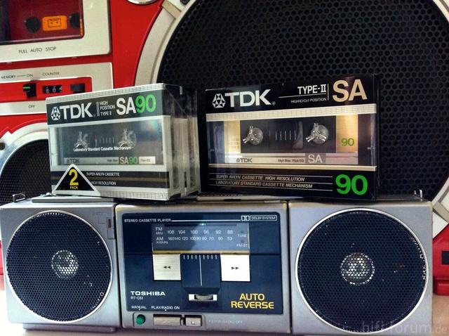 TDK SA 90   AudioTapes