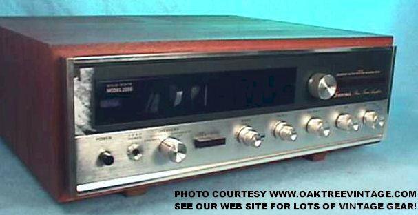 Sansui 2000 Stereo Receiver Salv Web