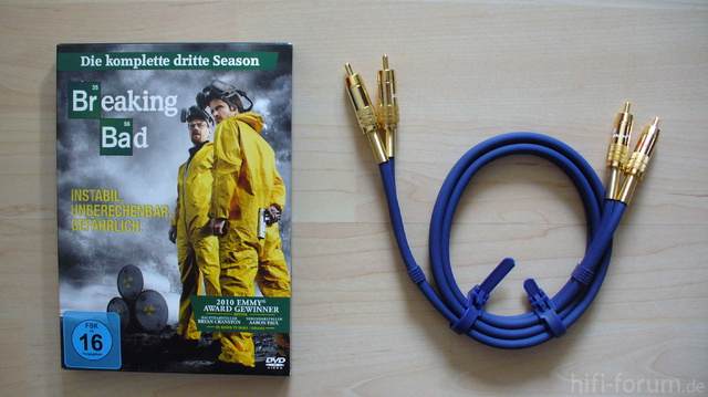 Breaking Bad & Oehlbach Chinch Kabel