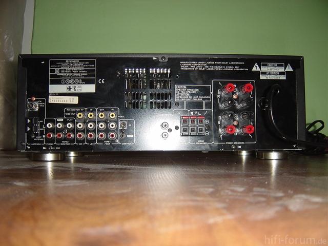 Pioneer VSX 804RDS Rück