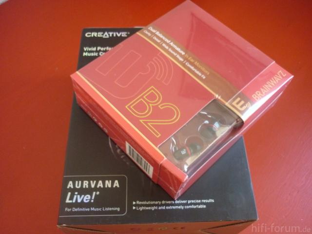 Creative Aurvana Live! / Brainwavz B2