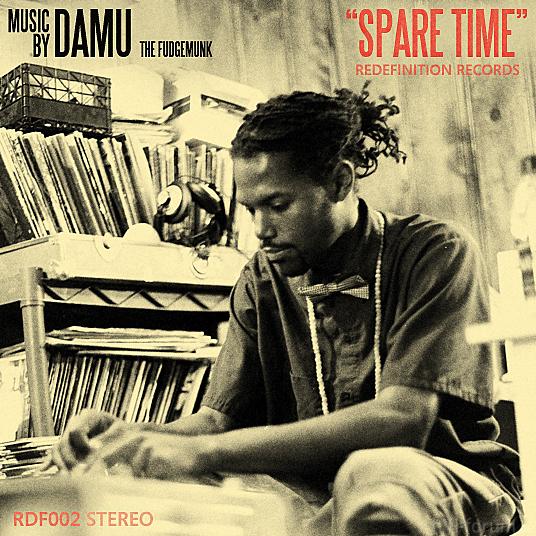 Damu   Spare Time   Album Cover