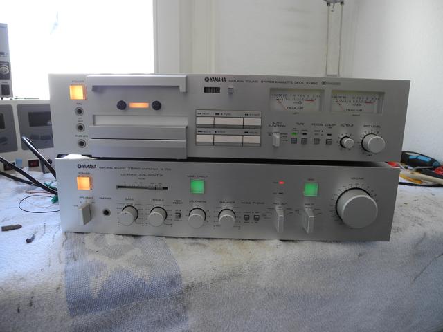Yamaha A-760 & K-850