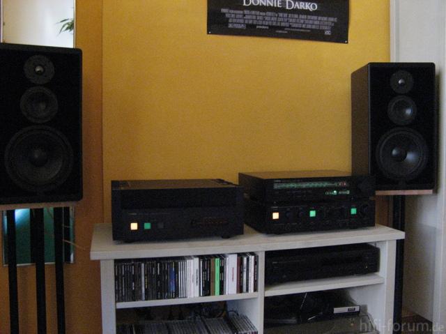 Yamaha Anlage In Meinem Zimmer