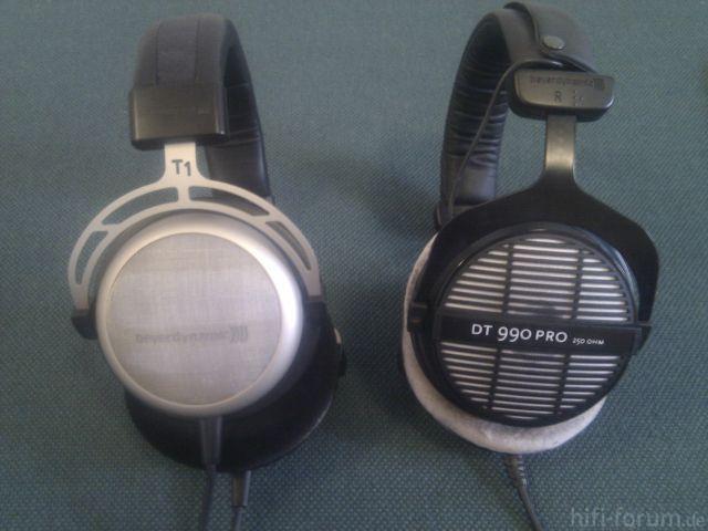 T1 Und DT990Pro