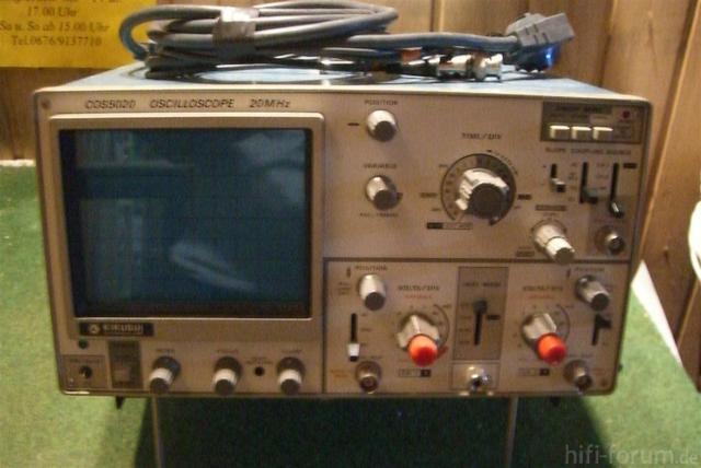 Oszilloskop COS 5020