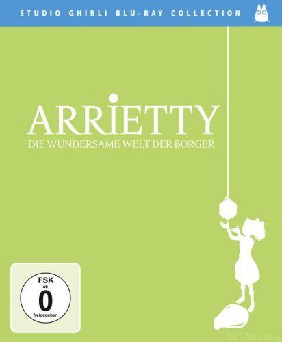 Arrietty Die Wundersame Welt Der Borger Blu Ray 2