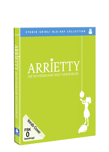 Arriety Blu Ray 3D