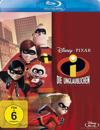 Die Unglaublichen The Incredibles Blu Ray