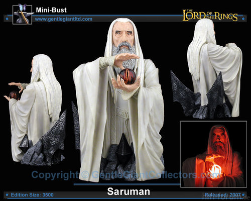 LOTR Saruman Gentle Giant 300
