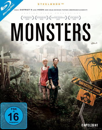 Monsters Blu Ray