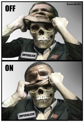 Obama Bush Mask Off On